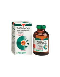 Tolfedine 4mg/ml. Antiinflamatorio inyectable perro y gato 30 ml.