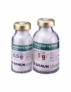Tiobarbital 0,5 gr. Anestésico inyectable en polvo
