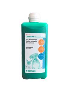 Clorhexvet Solución jabonosa Desinfectante 500 Ml.