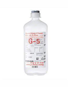 Suero Glucosavet Braun 5% 500 Cc.