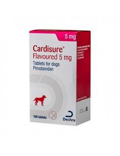 Cardisure insuficiencia cardiaca perro 5 mg. 100 comp.