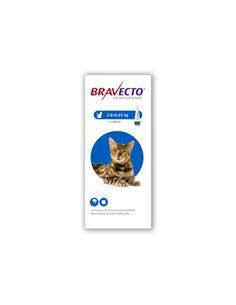 Bravecto spot on gatos 250 mg.