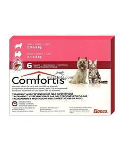 Comfortis 180 mg.(3/3,80 kg.)