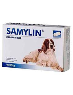 Samylin razas medianas salud del hígado perros 30 comp.
