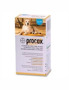 Procox suspensión oral antidiarreico mascotas 7,5 ml.