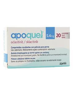 Apoquel tratamiento dermatitis atópica 5,4 mg. 20 comp.