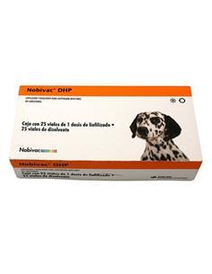 Vacuna Nobi-vac DHP 25 dosis