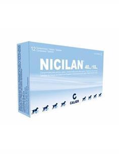 Nicilan 40+10 mg. antibiótico perros y gatos 120 comp.