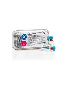 Vacuna Nobi-vac DHPPI 5 dosis