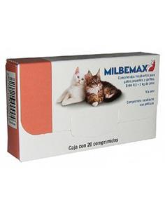 Milbemax antiparasitario interno gato pequeño 0,5-2 kg. 1 comp.