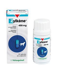 Zylkene Tranquilizante natural perros 450 mg. 30 comp.