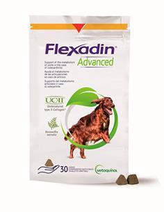 Flexadin Advanced UC II con Boswellia articular perros 30 premios