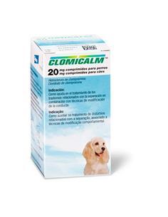 Clomicalm antidepresivo perro 20 Mg. 30 Comp.