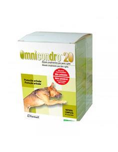 Omnicondro 20 desgaste articular perros +20 kg. 60 comp.