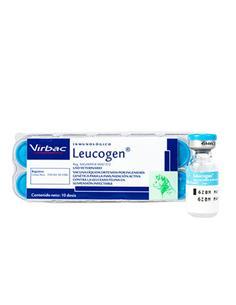 Vacuna Leucogen leucemia 10 dosis