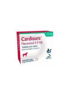 Cardisure insuficiencia cardiaca perro 2,5 mg. 100 comp.