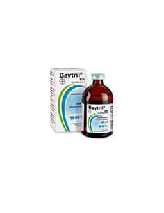 Baytril Antibacteriano Solución Inyectable 50 ml.