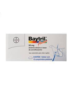 Baytril Sabor 50 mg. 100 comp.