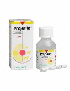 Propalin Jarabe+jeringa incontinencia urinaria perras 100 ml.