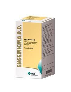 Engemicina Antibacteriano inyectable 250 ml.