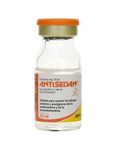 Antisedan Inyectable 10 ml.