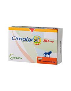 Cimalgex antiinflamatorio perros 80 Mg.32 Comp.