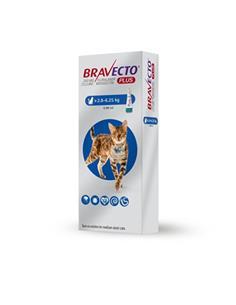 Bravecto Plus spot on gatos 250 mg.