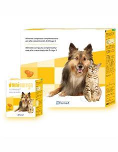 Omniomega Omega-3 perro y gato 540 caps.
