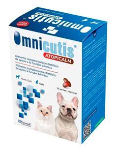 Omnicutis suplemento dermoprotector perros y gatos 30 cap.