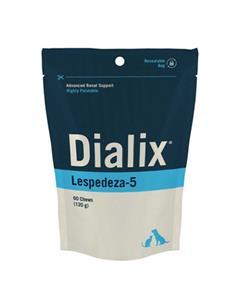 Dialix Lespedeza-5 suplemento renal perros y gatos 60 premios