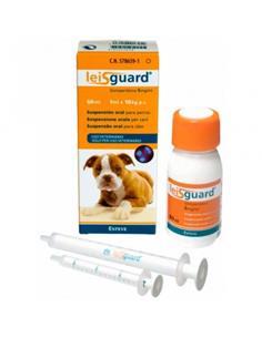 Leisguard reducción infección activa de leishmaniosis 60 ml.