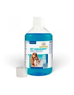 Vet Aquadent cuidado oral perros y gatos 500 ml.