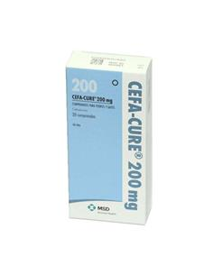 Cefa-Cure antibiotico perros y gatos 200 mg. 20  comp.