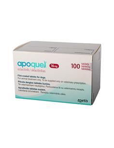 Apoquel tratamiento dermatitis atópica 16 mg. 100 comp.