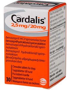 Cardalis insuficiencia cardiaca perros pequeños 30 comp.
