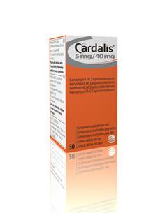 Cardalis insuficiencia cardiaca perros medianos 30 comp.