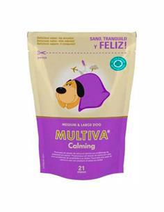 Multiva Calming tranquilizante perro mediano y grande 21 premios
