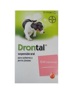 Drontal suspensión oral 50 ml.