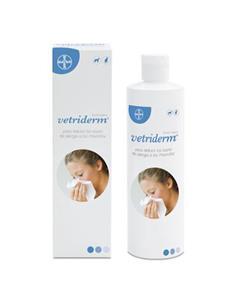 Vetriderm Loción Anti-alérgenos animales con pelo 350 ml.