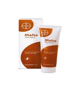Sano & Bello Malta la eliminación bolas de pelo del gato 100 g.