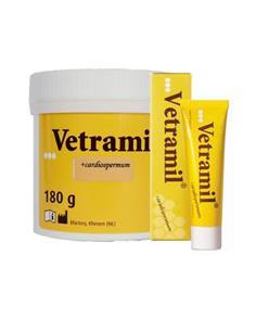 Vetramil Pomada Cicatrizante antibacteriana mascotas 180 gr.