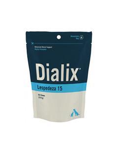 Dialix Lespedeza-15 suplemento renal perros y gatos 60 premios
