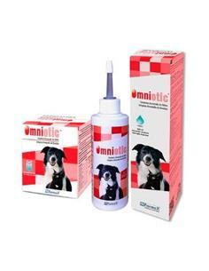 Omniotic limpiador de oidos perros y gatos 20x5 ml.