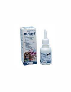 Recicort gotas Oticas perros y gatos 20 ml