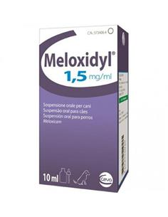 Meloxidyl oral antiinflamatorio perros 10 ml.