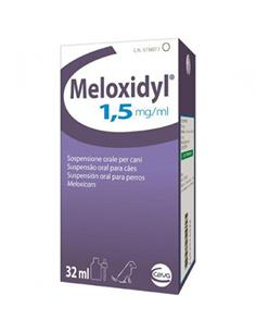 Meloxidyl oral antiinflamatorio perros 32 ml.