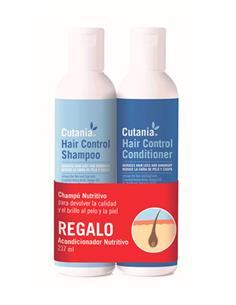 Cutania Hair Control Pack (Champú y Acond.) perro 236 Ml.