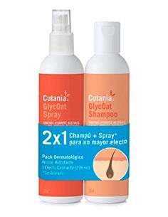 Cutania Glycoat Pack (Champú y Spray) perro 236 Ml.
